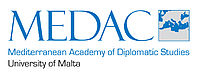 Mediterranean Academy of Diplomatic Studies logo