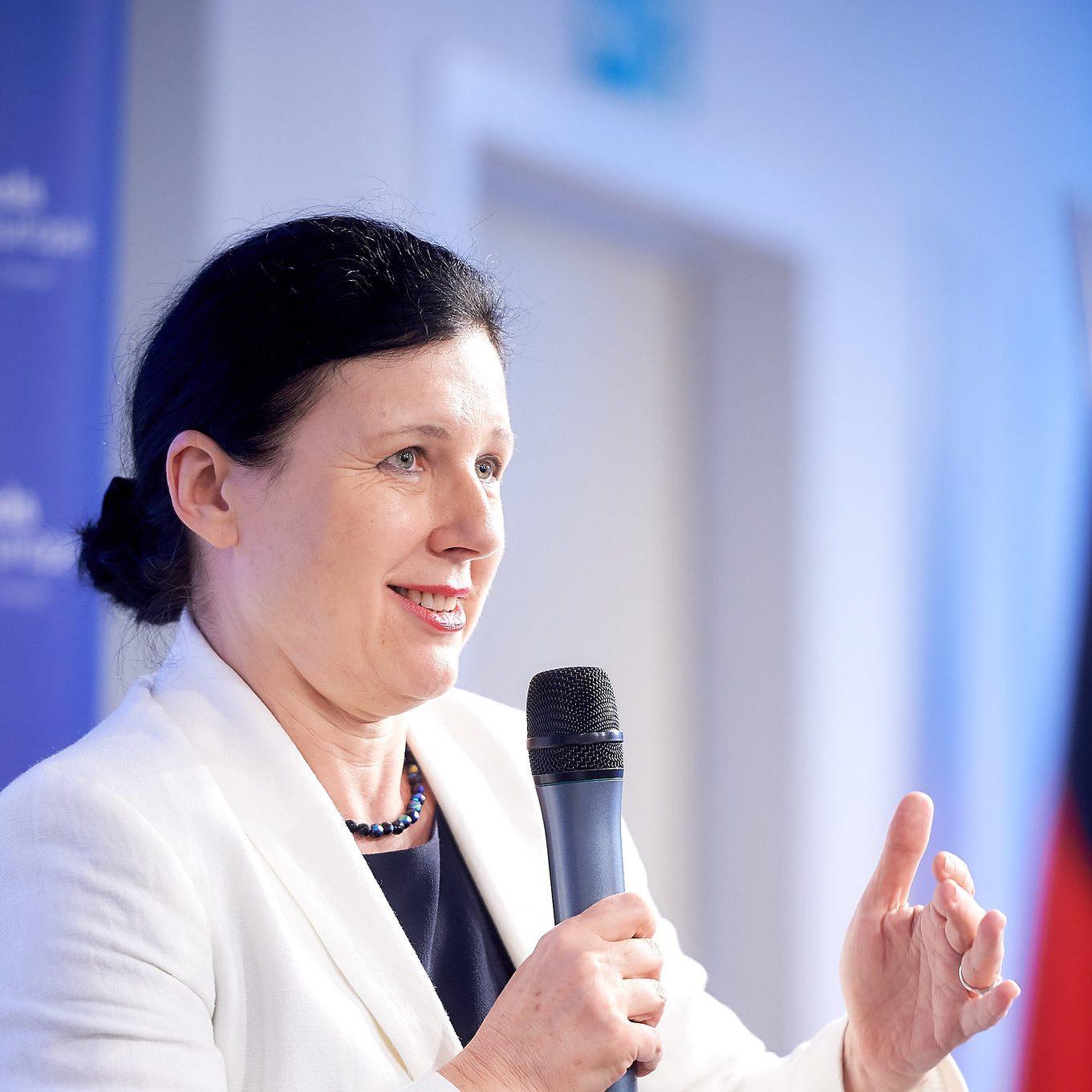 Conversation with Věra Jourová
